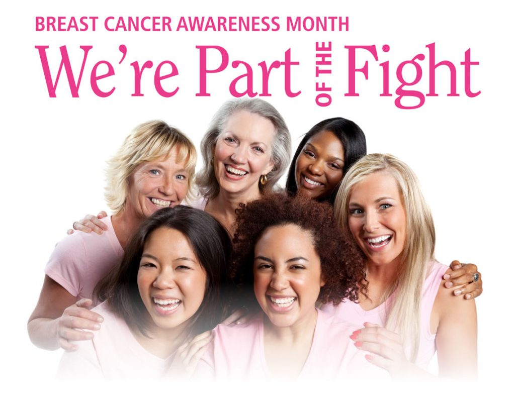 Breast Cancer Awareness Month - We're Part of the Fight